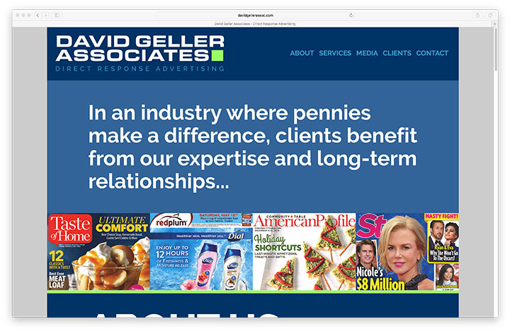 Website - David Geller Associates