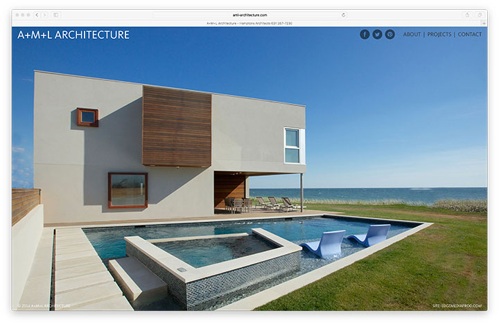 Website - A+M+L Archirecture