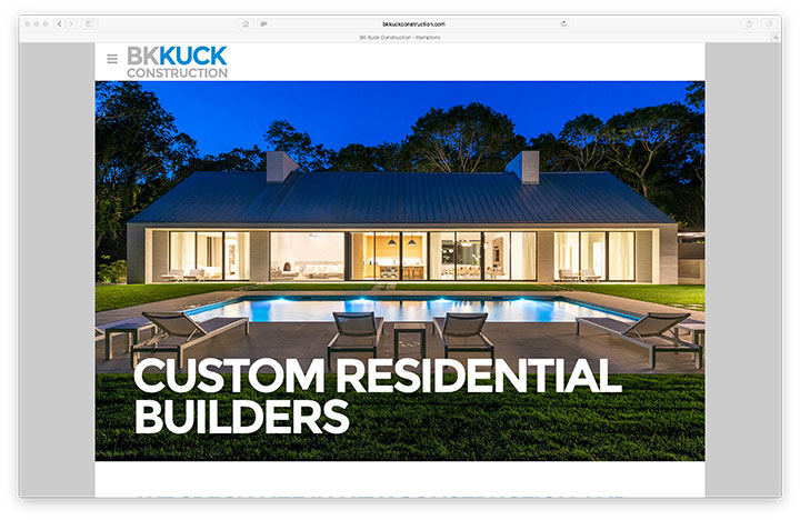 Website - BK Kuck Construction