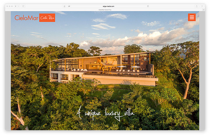 Website - CieloMar Costa Rica