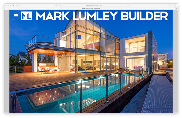 Website - Mark Lumley Builder