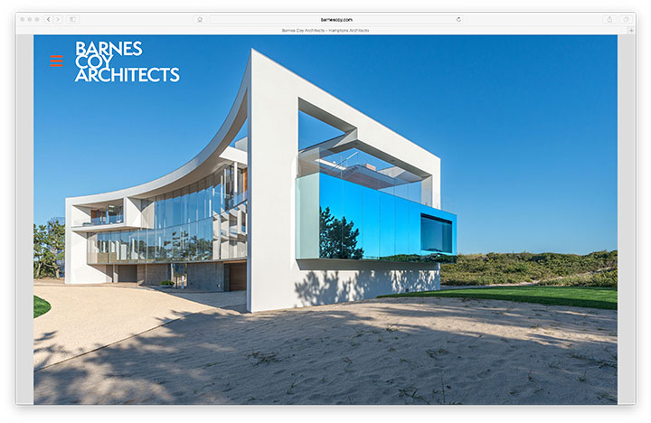 Website - Barnes Coy Architects