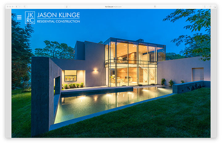 Website - Jason Klinge Residential Construction